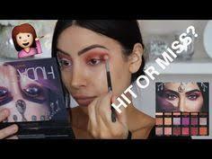 huda beauty desert dusk palette review swatches makeup tutorial
