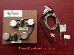 prebuilt upgrade wiring harness diy kits tone man guitar my