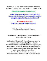 Strayer Cis 348 Week 7 Assignment 5 Mobile App Part 2 2
