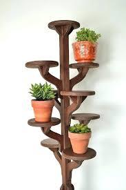 wood pedestal plant stands tall wooden pedestal plant stand