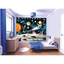 Space Bedroom Wallpaper Walltastic Space Adventure Bedroom Wallpaper Mural Next Day