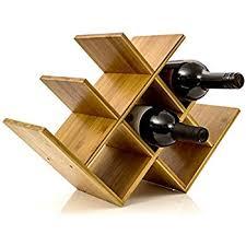 Wine Rack Wine Holder Wine Storage 8 Bottle Rack Horizontal Storage Compact  Design Made of Organic
