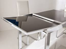 extendable glass dining table suppliers manufacturers