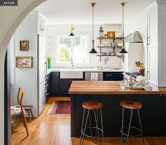 Open Kitchen Layout A Modern Moroccan Kitchen Rue I Am Inspired By You Pinterest
