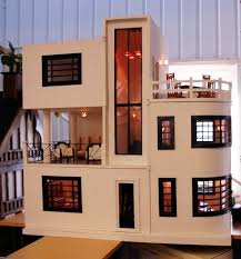 modern dolls house furniture. art deco dollhouse from dolly daydreams love the 2nd floor balcony possibly off modern dolls house furniture