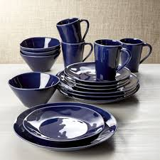 blue dinnerware sets. Wonderful Blue To Blue Dinnerware Sets Crate And Barrel