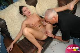 Picture woman fucking old man