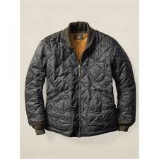Lyst - Rrl Quilted Liner Jacket in Black for Men & Gallery Adamdwight.com