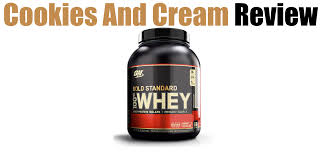 optimum nutrition cookies and cream review with pictures