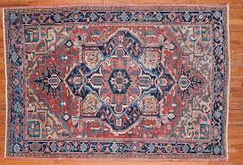 antique heriz rug 9792