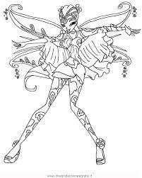 Disegno Winxbloomix1 Personaggio Cartone Animato Da Colorare
