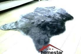 fake polar bear rug with head fake bear skin rug with head faux skin rug grey fake polar bear rug
