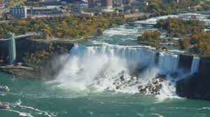 Image result for aerial view of Niagara Falls