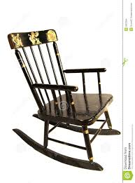 rocking chair clipart. Antique Child S Rocking Chair Clipart