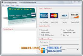 free valid credit card numbers generator with security code and