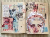 Очаровательных изображений на доске «Scetchbook»: 65 | Paint ...