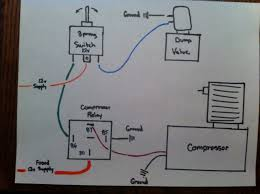 diy air ride wiring help?? harley Porter Cable Compressor Wiring Diagram Basic Air Compressor Parts Diagram
