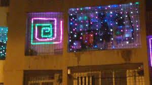 Diwali Led Lights Design Balcony Lighting For Diwali 2017 Youtube