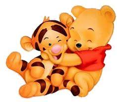 baby tigger and pooh hugging. Baby Winnie The Pooh Hugging Tigger Throughout And