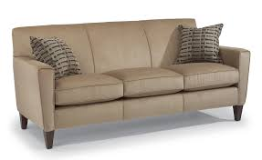 amazing apartment sized sofa stylish size classic brown leather design rectangular shape for three person foot