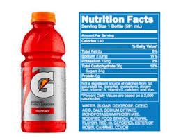 rh attachmax powerade label food gatorade protein bar food lab