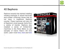 Vending Machine Sephora Best 48 Interesting Things Vending Machines June 4810