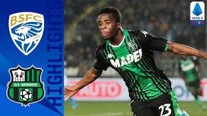 Brescia 0-2 Sassuolo   Traorè and Caputo Both On Target