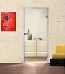 interior clear glass door. Atos On Clear Glass Door Interior E
