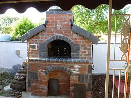 gas and wood fueled brick pizza oven