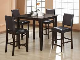 Endearing Tall Dining Room Table Wooden Importers Parfait  Piece - Tall dining room table chairs