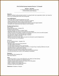 Cna Resume Samples New Cna Resume Template Inspirational Resume