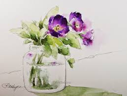 famous watercolor paintings of flowers 53 easy watercolor painting ideas for beginners visual arts ideas