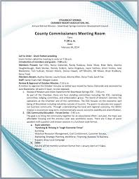 Annual Business Meeting Agenda Template Printable Meeting