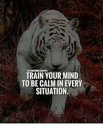 The AWESOME QUOTES TRAIN YOUR MIND TO BE CALM IN EVERY SITUATION Mesmerizing Calm Quotes