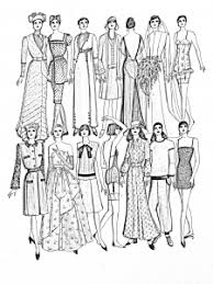Small Picture Fashion clothing and jewelry Coloring pages for adults JustColor