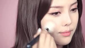 pony make up makeup tutorial korean style natural look 2016