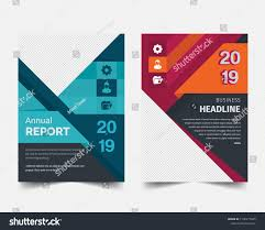 Nice Report Design Annual Report Brochure Flyer Design Layout Royalty Free