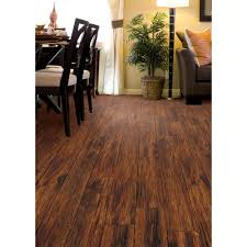 trafficmaster embossed alameda hickory 7 mm thick x 7 3 4 in wide x 50 5 8 in length laminate flooring 24 52 sq ft case hl707 the