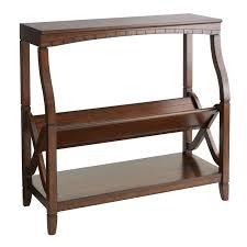 pier 1 imports home office. Bookseller Low Shelf - Mahogany Brown | Pier 1 Imports Home Office