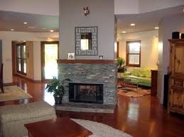 fireplace in the center of a room - Google Search
