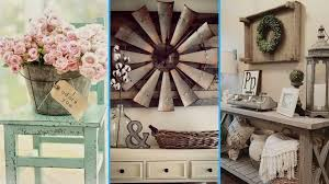 Chic Design And Decor 💙DIY Vintage Rustic Shabby Chic Style Room Decor ideas 54