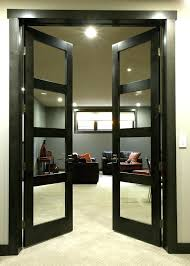 french door hardware hall contemporary with glass doors chrome pendant lights patio