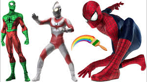 spiderman and ultraman jack coloring book for kids