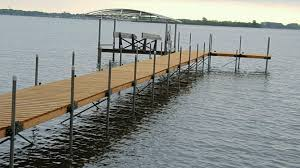 the original wood sectional docks