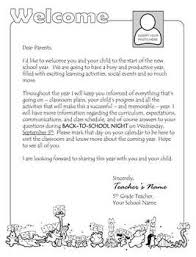 Welcome Back To School Letter Templates Welcome Letter Template Teaching Resources Teachers Pay Teachers