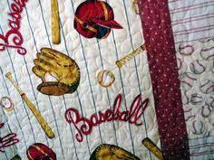 Baseball mini quilt table cloth by granniesraggedybags on Etsy ... & Baseball mini quilt table cloth by granniesraggedybags on Etsy, $30.00   my  favorite creations   Pinterest   Mini quilts, Minis and Etsy Adamdwight.com