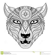 L Opard Conception De Sch Ma Pour Livre De Coloriage Pour L Adulte Coloriage Dun Leopard L