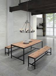 metal and wood dining table. Dining Tables, Marvelous Wood Metal Table And Chairs W