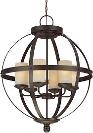 seagull 3190406 715 sfera modern autumn bronze chandelier light loading zoom