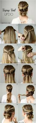 5 Minute Hairstyles For Girls 792 Best Images About Hair Tutorials On Pinterest Chignons Updo